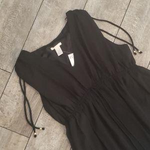 H&M maternity black dress 647